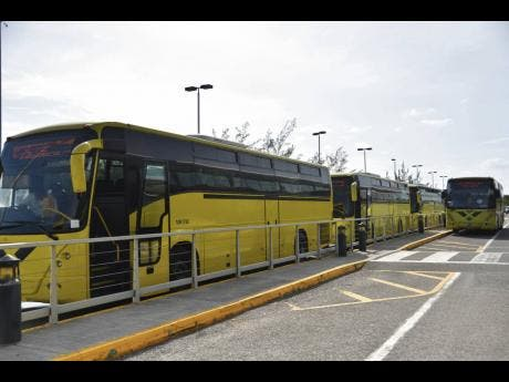 JUTC buses