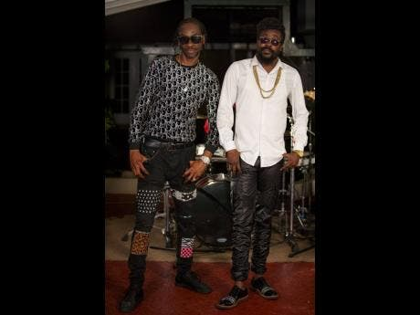 Dancehall legends Beenie Man (right) and Bounty Killer.