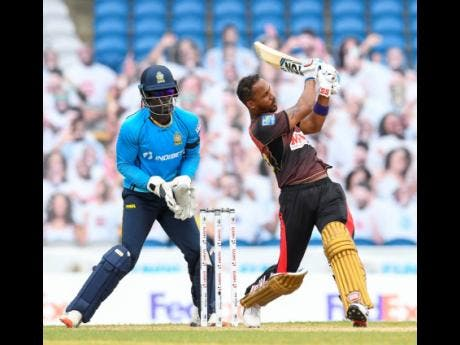 Trinbago Knight Riders ease to victory to secure Caribbean Premier League crown