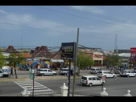 A view of Portmore Mall, located in the heart of the Sunshine City.