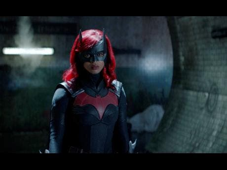 This image provided by The CW shows Javicia Leslie in a scene from 'Batwoman'.