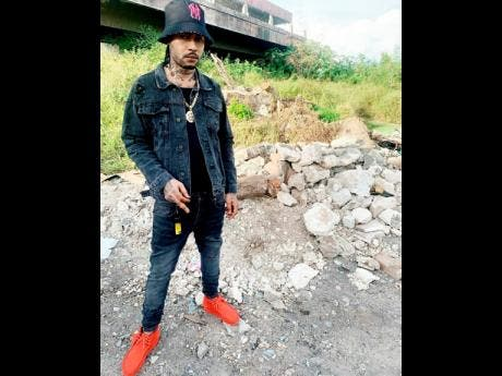 Jahvillani is now sporting a lighter complexion. Inset: Jahvillani performing at Reggae Sumfest in 2019.