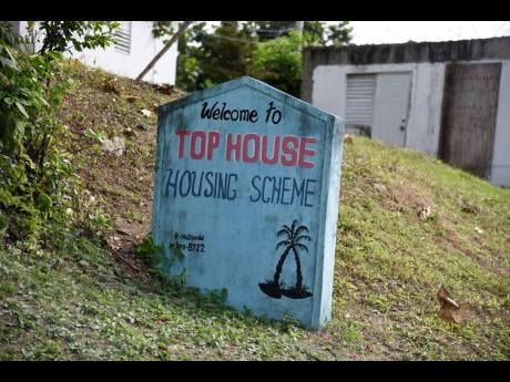 Residents of Top House in Dalvey, St Thomas, say that in order to get the live-saving community they have to either go to a nearby river, depend on rainfall, or buy from trucks.