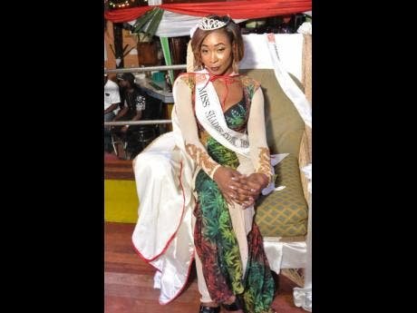 Lady Kiki also won the Miss Shades title.