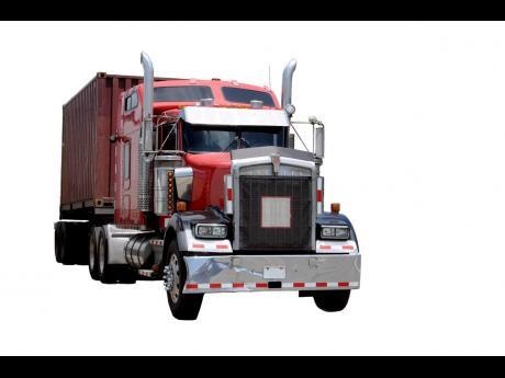 An 18-wheeler truck.