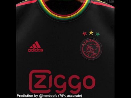 Ajax Bob Marley inspired kit.