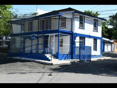 The newly rehabilitated Adelphi Police Station in St James.