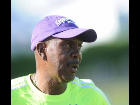 Ludlow Bernard, head coach at Harbour View.