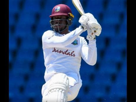 West Indies batsman Nkrumah Bonner.