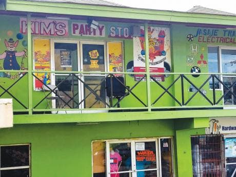 Kim's Party Stop in Philly Blacks Plaza, Olympic Way, St Andrew.