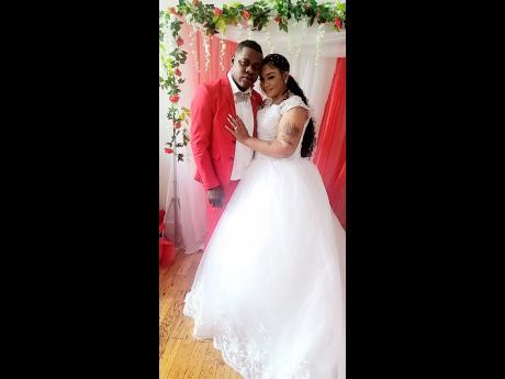 Nuffy and wife Kemeeka Samuels.