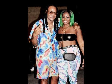 Date night took KoolKid of Get There Squad and his singing sweetheart, Kae Music, out to Uptown Mondays.