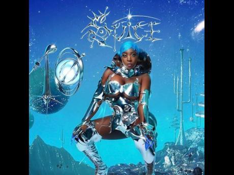 Album cover for Spice's album,TEN.