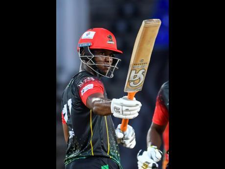 Evin Lewis of Saint Kitts & Nevis Patriots.