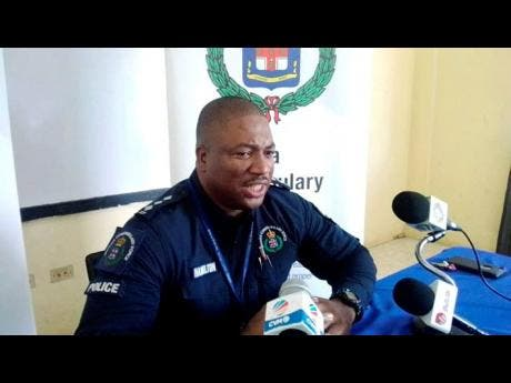 Deputy Superintendent of Police Adrian Hamilton, in charge of operations in the Westmoreland Police Division.