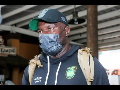 Reggae Boyz head coach Theodore 'Tappa' Whitmore