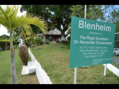 Blenheim, the birthplace of Sir Alexander Bustamante.